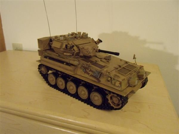 RC fan 3D prints stunning remote controlled 1/6th Scorpion tank