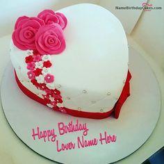 write name on Amazing Birthday Cake Girlfriend picture