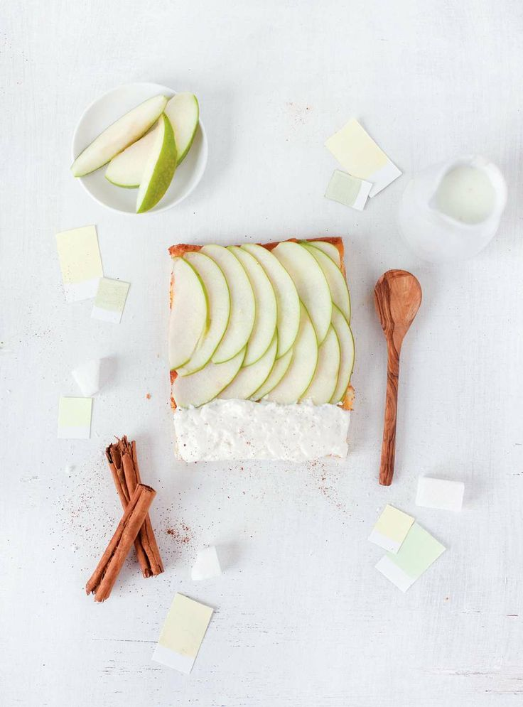 Apple - cinnamon by Emilie Guelpa from Rainbow Tarts | Cooked