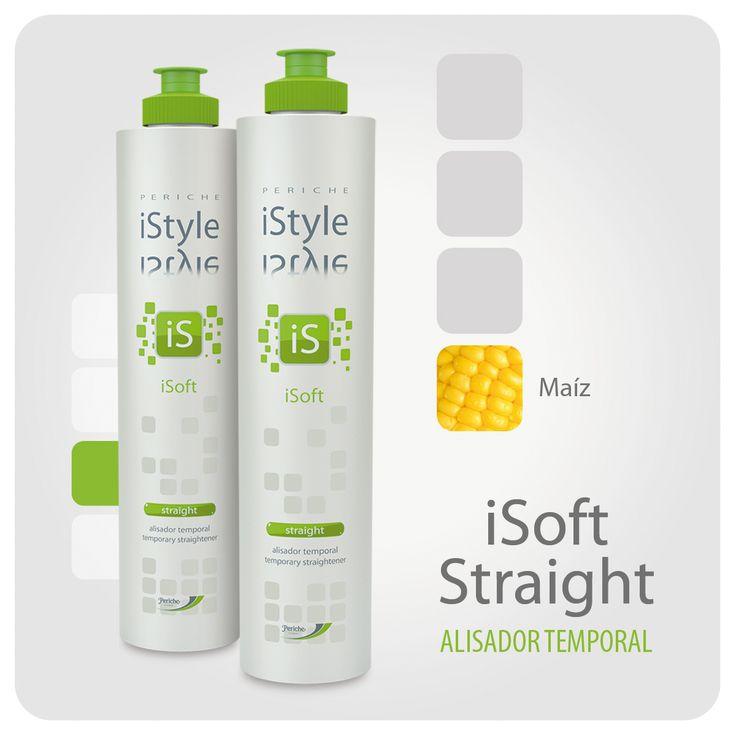 Con proteínas de maíz, el gel alisador temporal iSoft Straight es ideal para cabellos encrespados, secos y rizados. Además de poseer un potente efecto antifrizz, resistente a la humedad ambiental.  El cabello queda libre, suave y con un excelente brillo.  #peluqueríaprofesional   #gelalisador