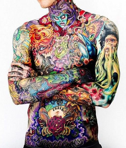 1002 Best Japanese Full Body Tattoo Images On Pinterest: 17 Best Images About Crazy Color Work On Pinterest