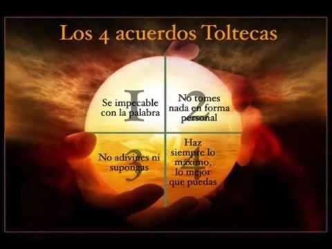 Los Cuatro Acuerdos De La Sabiduria Tolteca    Audiolibro Completo Ecco ...