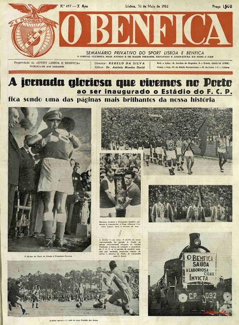 A Minha Chama: Jogos Imortais: Porto 2 SL Benfica 8