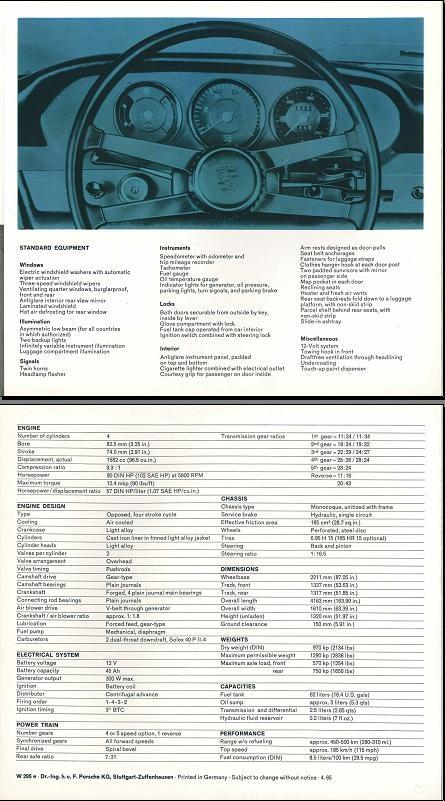 Part III - Porsche 912 wit 2x (1965) - Origineel publiciteitsmateriaal SWB t/m 1968 - Bijzonder (foto)materiaal - Klassieke Porsche 911 en 912 Club Nederland
