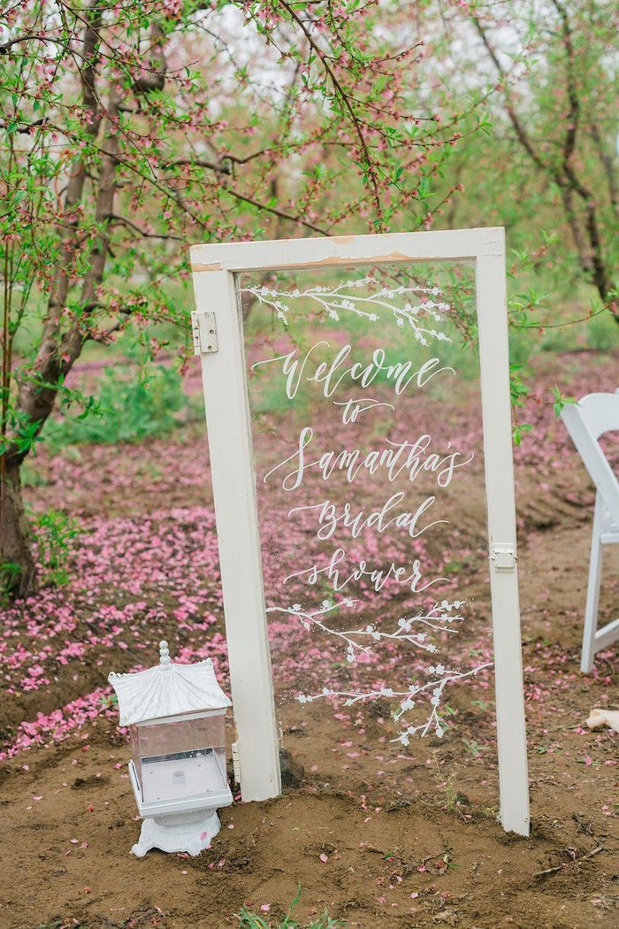 bridal shower themes for spring%0A Bridal Shower Garden Tea Party on Kara u    s Party Ideas   KarasPartyIdeas com