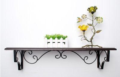 28.56$  Buy now - https://alitems.com/g/1e8d114494b01f4c715516525dc3e8/?i=5&ulp=https%3A%2F%2Fwww.aliexpress.com%2Fitem%2FContinental-Iron-wall-mounted-racks-wood-clapboard-wall-mount-bracket-set-top-box-frame-shelf-bookcase%2F32646987152.html - Continental Iron wall-mounted racks wood clapboard wall mount bracket set-top box frame shelf bookcase flower