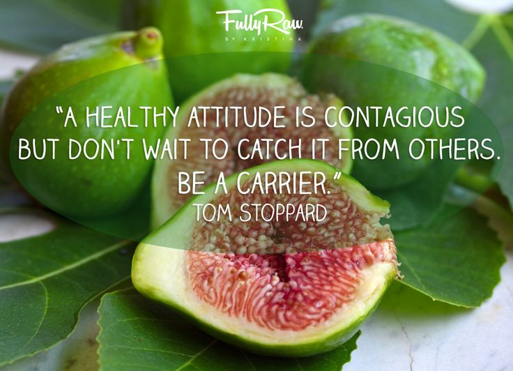 Raw Foods and Positive Thinking