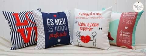 Almofadas Namorados - Mimô