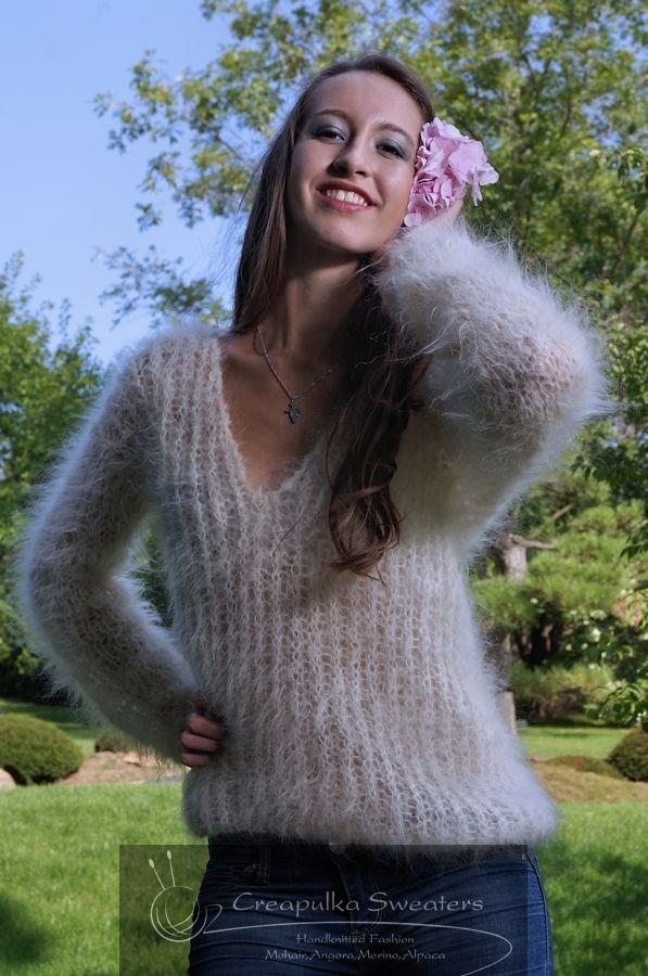 Knitting Patterns For Mohair Jumpers : 738 best creapulka images on Pinterest