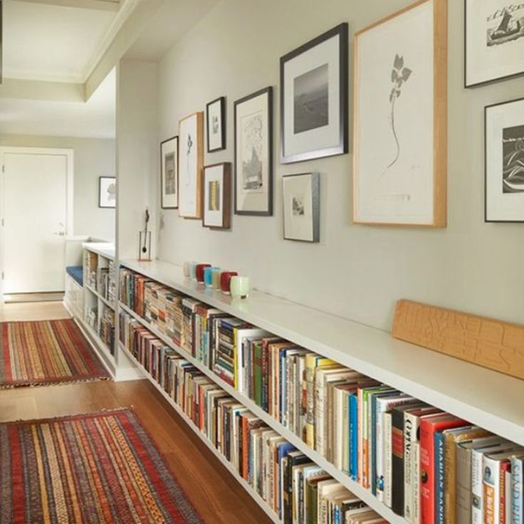 Best 25 narrow hallways ideas on pinterest for Amenager couloir long
