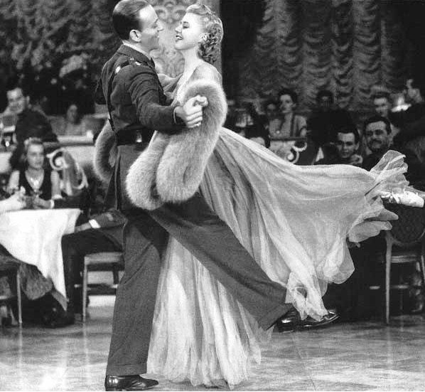 Fred Astaire and Ginger Rogers in The Story of Vernon And Irene Castle 1939