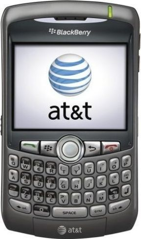 Mint Blackberry Curve 8310 Cell Phone GSM ATT Grey - Unlocked to At&t - For Sale