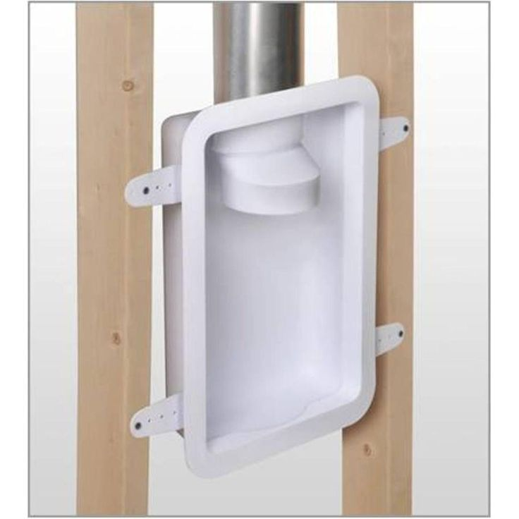 Recessed Dryer Vent Box