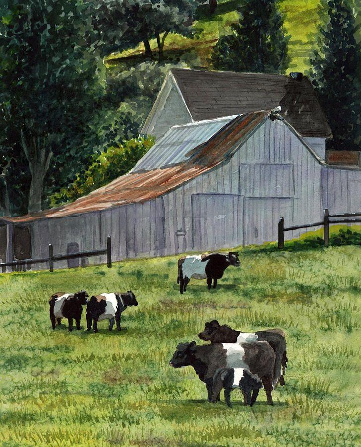 oreo cow painting Oreo Cows In Napa Painting Oreo Cows