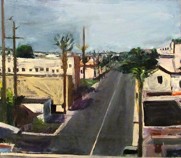bofransson: Richard Diebenkorn - Street 1961