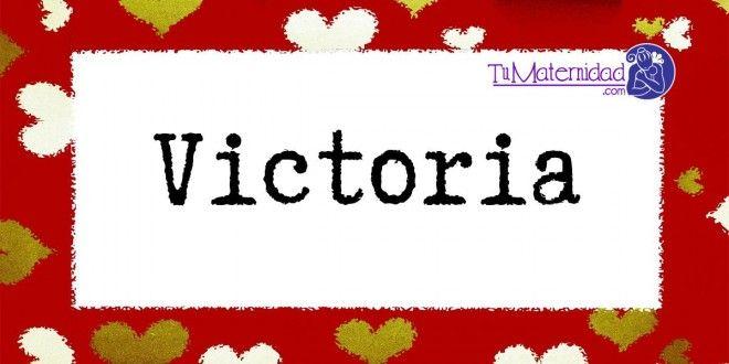 Conoce el significado del nombre Victoria #NombresDeBebes #NombresParaBebes #nombresdebebe - http://www.tumaternidad.com/nombres-de-nina/victoria/
