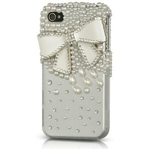 crystal bow: Iphone Cases, Bow 3, Style, Diamond, Bows, Iphone 4 Cases, Phone Cover, Products