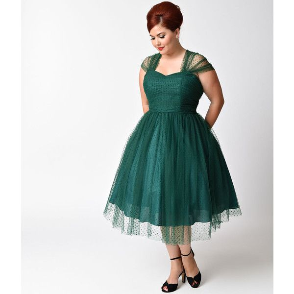 plus size dress green - gaussianblur