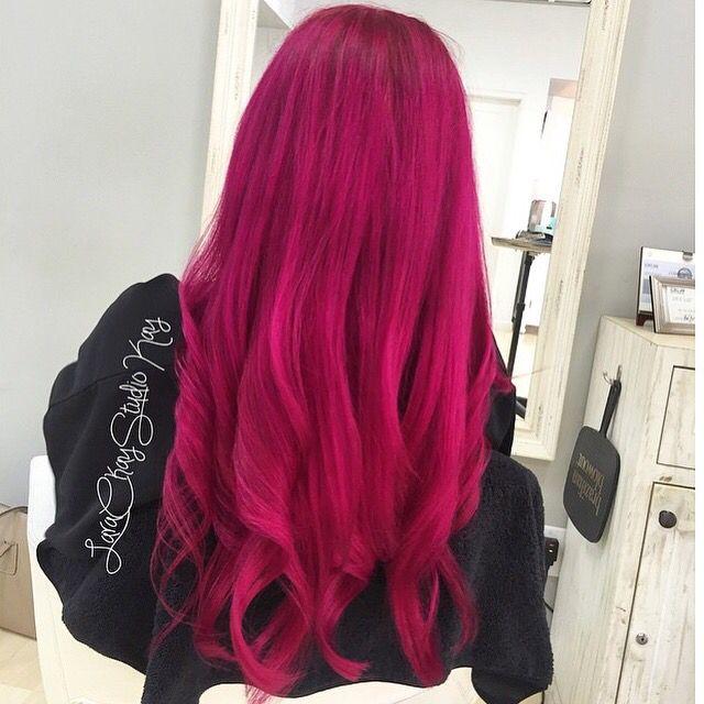Best 20+ Magenta hair ideas on Pinterest | Magenta hair dye, Dark ...