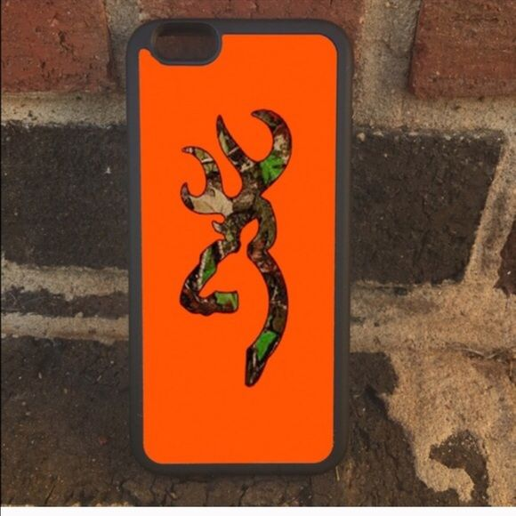 Orange camo phone case ‼️‼please specify which case you need this for & which one you want to order I have all in stock ‼️‼️ one-piece ultra thin case fits easily onto your phone providing protection to back and sides.  •I have  iPhone 6S or 6 6PlusS or 6 plus & 5, 5c, or Samsung 3,4, 5,6, 7 or 6 edge & note 4 & 5 or iPod touch 5 & 6 •Ultra thin, adds no bulk to your phone ❤️❤️let me know what name or initials you want on the case as each can be personalized to fit your needs❤️❤️…