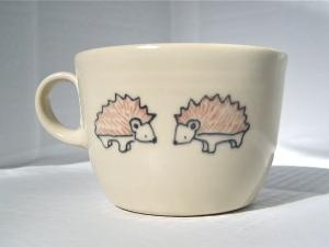 HedgehogsCeramics Painting, Teas Cups, Coffee Cups, Handmade Ceramics, Baby Hedgehogs, Hedgehogs Teas, Tea Cups, Teacups, Coffee Mugs