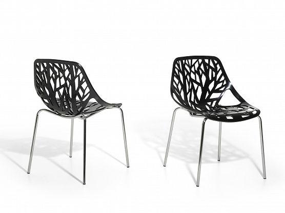 Nice Black And Modern Plastic Garden Chair Https://www.beliani.ch/