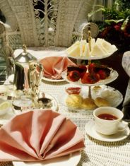 Planning an Afternoon Tea Party? Here are some menu ideas, recipes, tips (planning, menu, how to make proper tea, etiquette) and a history of afternoon tea.