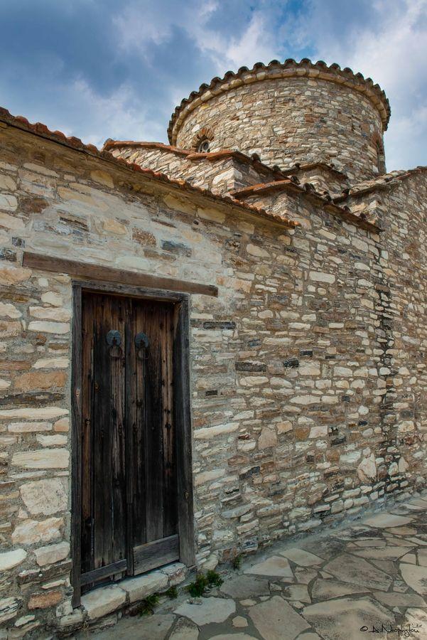 Old Church in Lefkara, Cyprus