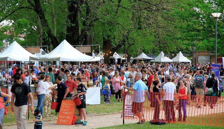 Taste Orange Wine Festival Night Markets