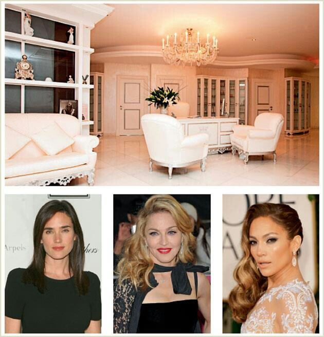 Hollywood Stars using Biologique Recherche