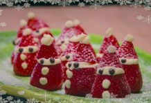 Strawberry Santas, so easy. How to video to follow at fresh.co.nz