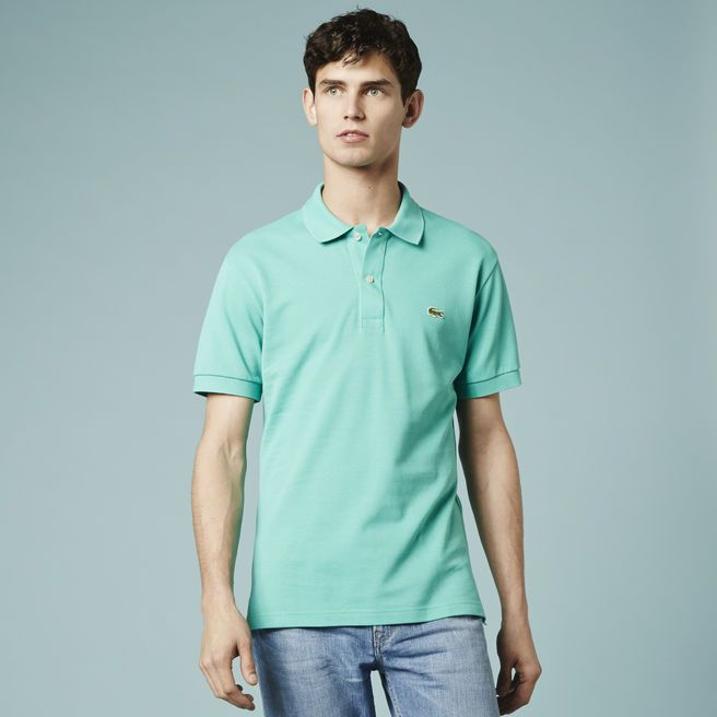 A green Lacoste polo is definitely a summer essential.