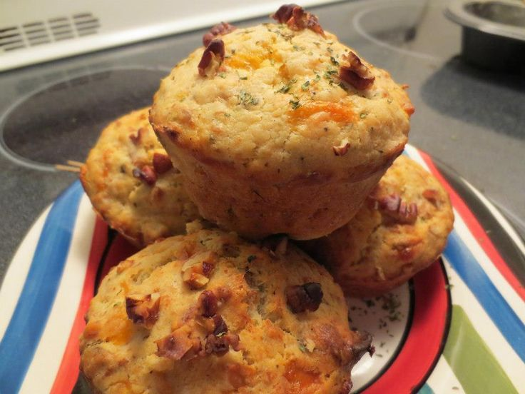 Petits pains ou muffins jambon fromage | .recettes.qc.ca