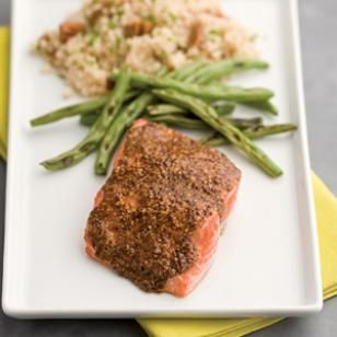 Smoky Maple-Mustard Salmon Recipe
