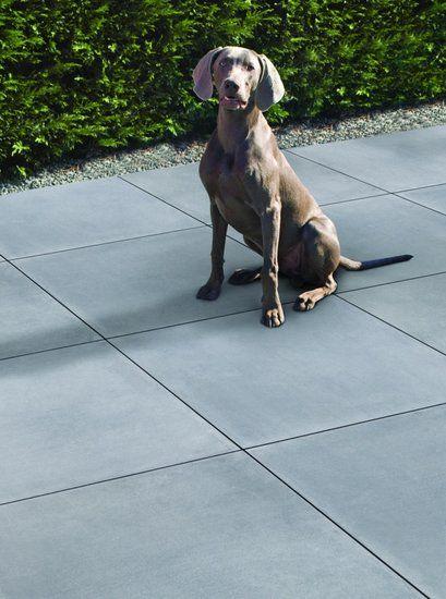 Optimum Silver 60x60 Excluton tegel - Tuintegelstunter.nl