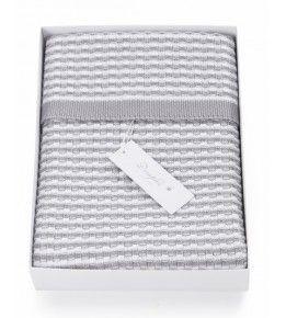 Dimples Cotton Basket Weave Blanket