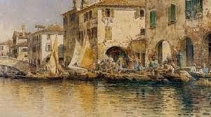 Angelos Giallinas -Το λιμάνι της Κέρκυρας-