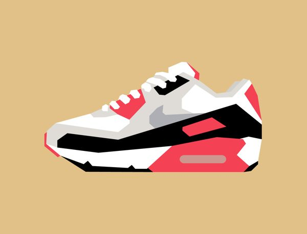nike shoes photoshop illustrator art pieces 844799