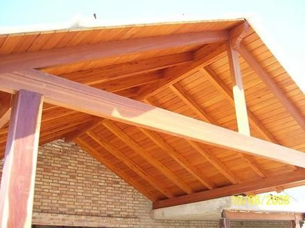 17 best images about wood structure on pinterest the - Como hacer un tejaban de madera ...