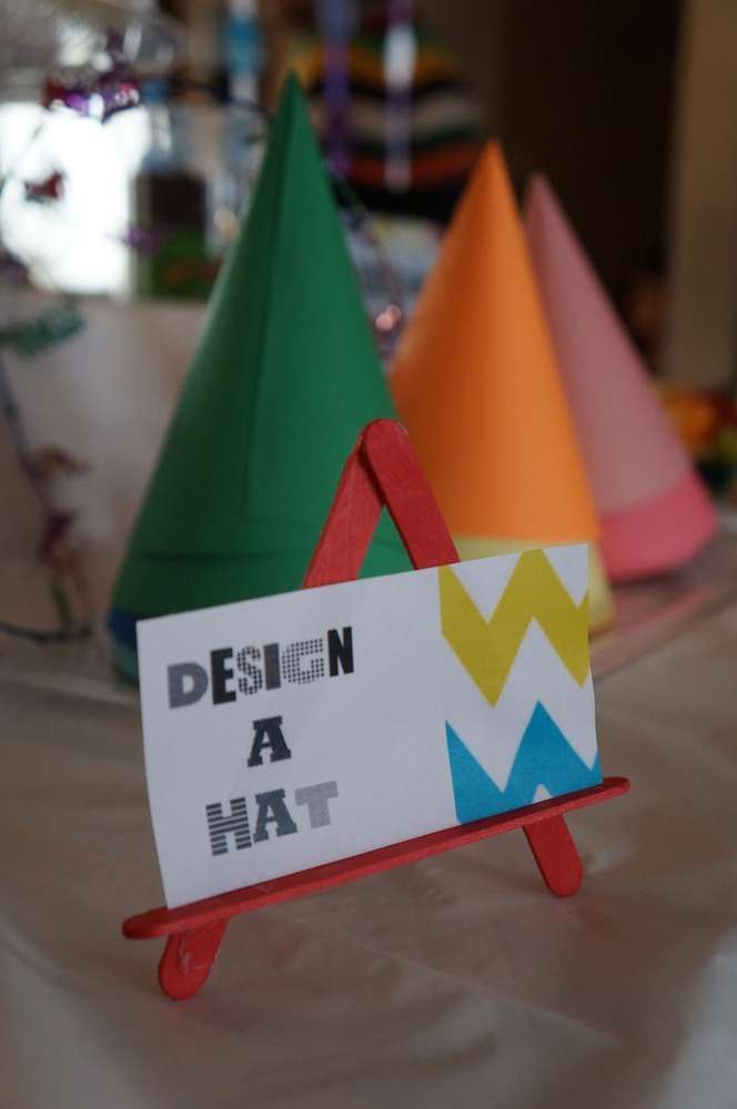 Arts & Crafts Birthday Party Ideas | Photo 1 of 20 | Catch My Party
