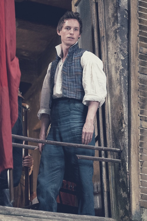 Eddie Redmayne (playing Marius Pontmercy), Les Miserables 2012 . Brilliant…