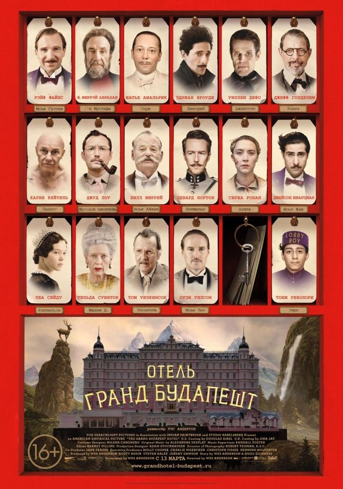 Отель «Гранд Будапешт» (The Grand Budapest Hotel)
