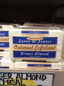 Trader Joe's Ginger Almond Oatmeal Exfoliant Soap by Trader Joe's. $4.95. Trader Joe's. Oatmeal Exfoliant with Ginger Almond. 8.8 oz. Trader Joe's Ginger Almond Oatmeal Exfoliant Bar Soap 8.8 oz