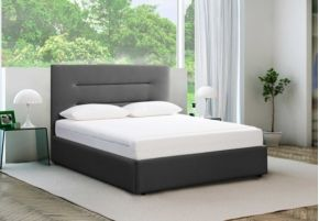 We'd love this modern Tempur® Options Profile King Ottoman Bed which features some handy storage space too!