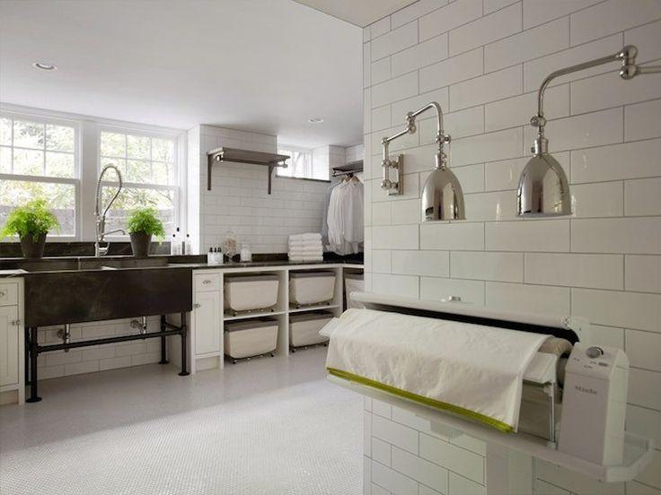 233 best storage shelves images on pinterest - Large laundry room ideas ...