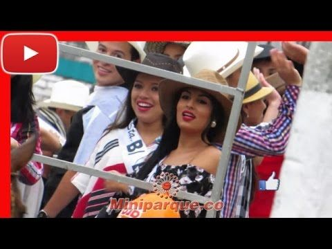 bellas damas desfilando en caballo horse cabalgata sevilla valle 2016 video HD 110