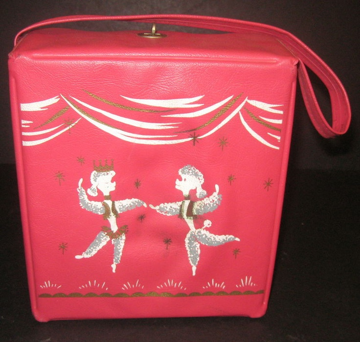 1958 Pink Poodle Lunch box