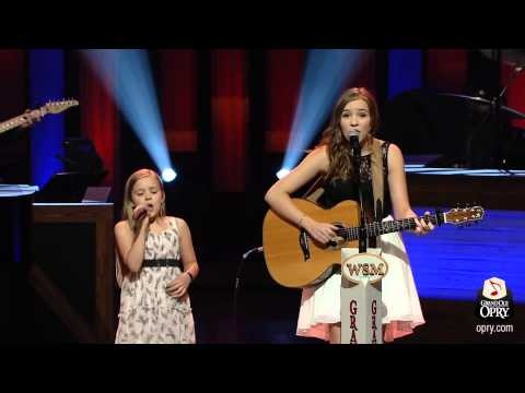 the very talented and young Lennon and Maisy Stella singing Ho Hey by The Lumineers)... They are too cute.
