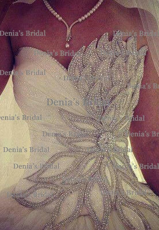 LUXURY 2014 WEDDING GOWNS | wholesale 2014 wedding vestidos buy 2014 luxury crystal ball gown ...