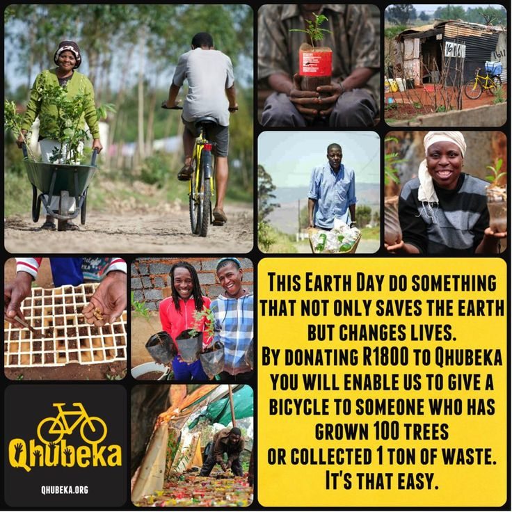 Do something that not only saves the world but changes lives.